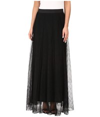 Nic Zoe Zigzag Tulle Skirt Black Onyx Women's Skirt