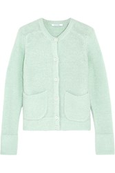 Carven Knitted Cardigan Green