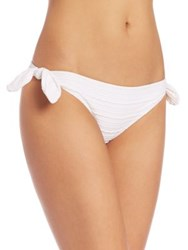 Heidi Klein Side Bow Hipster Bikini Bottom White