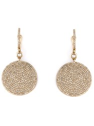Astley Clarke Large 'Icon' Earrings Metallic