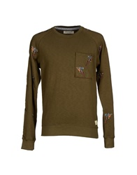 Anerkjendt Sweatshirts Military Green