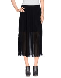 Silvian Heach Skirts 3 4 Length Skirts Women Black