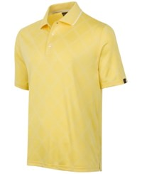 Greg Norman For Tasso Elba Men's Diamond Jacquard Performance Golf Polo Snap Dragon