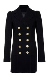 Andrew Gn Double Breasted Coat Black