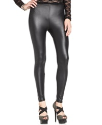 Material Girl Legging Pleather Legging Caviar Black