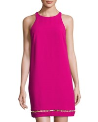 Trina Turk Alek Sleeveless Shift Dress Mod Magent