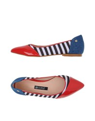 Cuple Footwear Ballet Flats Women Red