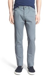 Men's Rvca 'Stay Rvca' Slim Straight Pants Blue