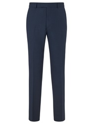 Chester By Chester Barrie Birdseye Tailored Suit Trousers New Blue