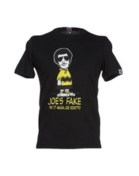 Joe Rivetto Topwear T Shirts Men Black