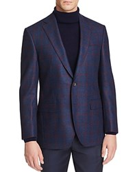 Jack Victor Loro Piana Window Dream Tweed Classic Fit Sport Coat 100 Bloomingdale's Exclusive Navy Maroom