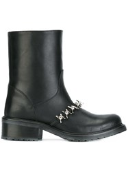 Dsquared2 'Babe Wire' Ankle Boots Black