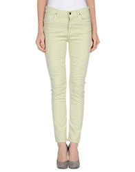 Citizens Of Humanity Trousers Casual Trousers Women Light Green
