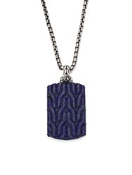 John Hardy Classic Chain Collection Pendant Chain Necklace No Color