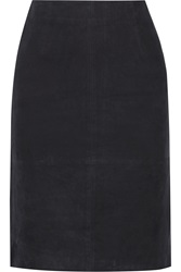 W118 By Walter Baker Molli Suede Skirt Blue
