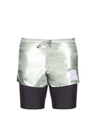 Satisfy Long Distance Technical Shorts Grey