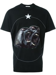 Givenchy Monkey Brothers T Shirt Black