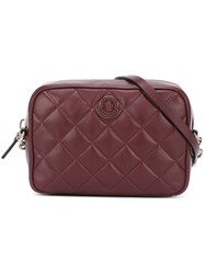 Moncler 'Lola' Cross Body Bag Pink And Purple