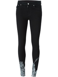 Mm6 Maison Margiela Tainted Skinny Jeans Black