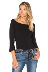 Lucy Paris Elle Off The Shoulder Top Black