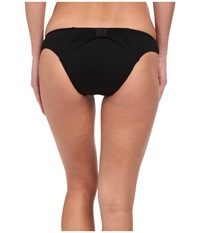 Seafolly Goddess Bow Back Brazilian Black Women's Swimwear