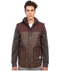 Matix Clothing Company Big Game Quilt Fleece Caramel Men's Sweatshirt Brown