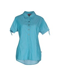 The North Face Shirts Shirts Women Turquoise
