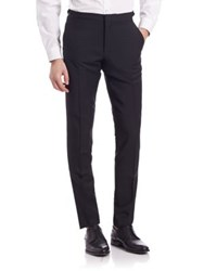 Burberry Stirling Evening Wool Pants Black