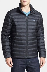 Men's Patagonia Water Repellent 800 Fill Power Down Sweater Jacket Black Black