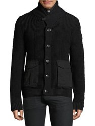 G Star Rovic Trans Seasonal Cardigan Dark Black