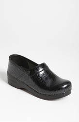Dansko 'Professional Tooled' Clog Black Tooled