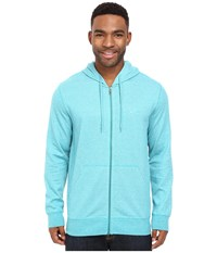 Oakley Pennycross Full Zip Lake Blue Light Heather Men's Sweatshirt