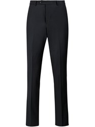 Officine Generale Slim Tailored Trousers Blue