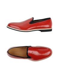 Sergio Rossi Moccasins Red