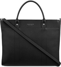 Globe Trotter Jet Collection Small Tote Black
