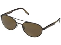 Maui Jim Upcountry Matte Chocolate Hcl Bronze Polarized Fashion Sunglasses Brown