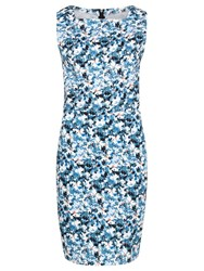 Sugarhill Boutique Libby Floral Shift Dress Blue