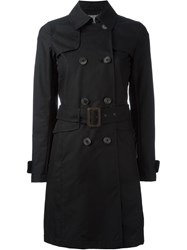 Herno Classic Trench Coat Black