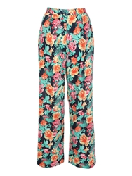 Jane Norman Floral Palazzo Pants Jasmine Floral Print