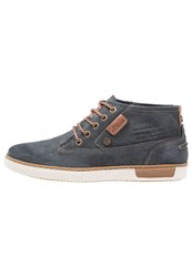 S.Oliver Casual Laceups Steel Dark Grey
