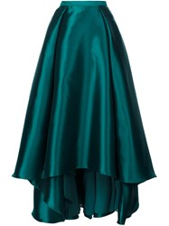 Badgley Mischka Long Full Skirt Green