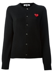 Comme Des Garcons Play 'Play' Cardigan Black