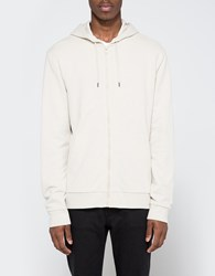 Topman Stone Zip Through Hoodie