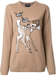 Markus Lupfer 'Bambi' Pullover Brown