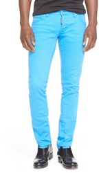 Dsquared Slim Fit Jeans Bright Blue