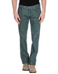Brooksfield Trousers Casual Trousers Men Emerald Green
