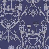 Graham And Brown Damasquerade Wallpaper Sample Swatch