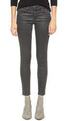 Ag Jeans The Super Skinny Legging Ankle Jeans Vintage Leatherette Lt Black