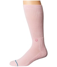 Stance Icon Pink Men's Crew Cut Socks Shoes