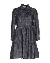 Band Of Outsiders Dresses Short Dresses Women Dark Blue